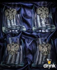 Подарочный набор стаканов для виски «Русский мамонт», фото 2