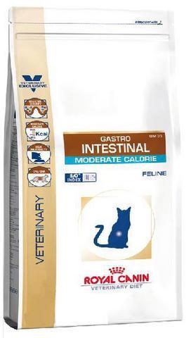 R.С. Гастро Интестинал Модр. Калор GIM35 д/кошек при панкреатите и нарушениях пищеварения 2кг*6
