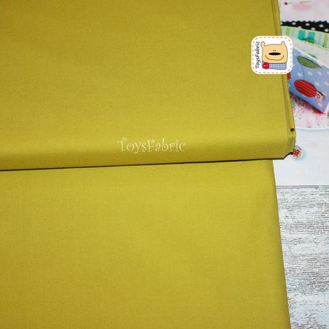 Ткань для пэчворка 20662 (однотонный оливковый) 45х55см