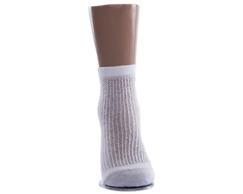 Носки детские тонкие белые в сеточку