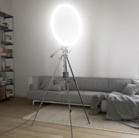 Кольцевая лампа Elforio