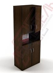 Ш-07 Шкаф офисный с распашными дверьми,с полками