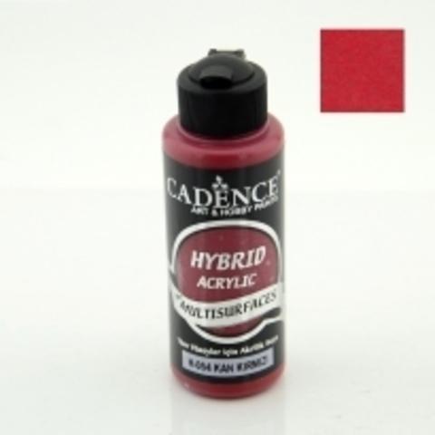 №54 Hybrid Acrylic, Красный, 70мл., Cadence