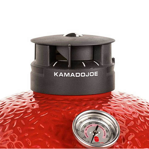 Керамический угольный камадо-гриль Kamado Joe Classic Joe III Red™ 46 см
