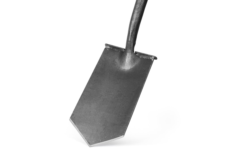 """Английская дренажная лопата """"Бульдог"""" DeWit с заостренным полотном с площадкой для ноги"""