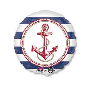 Фольгированный шар Морской 18