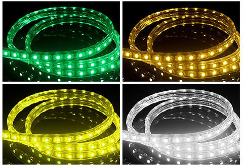 Разноцветный дюралайт лента RGB шланг мультик LED 100 метров бухта