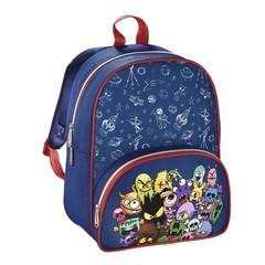 Рюкзак детский Hama MONSTERS синий/красный