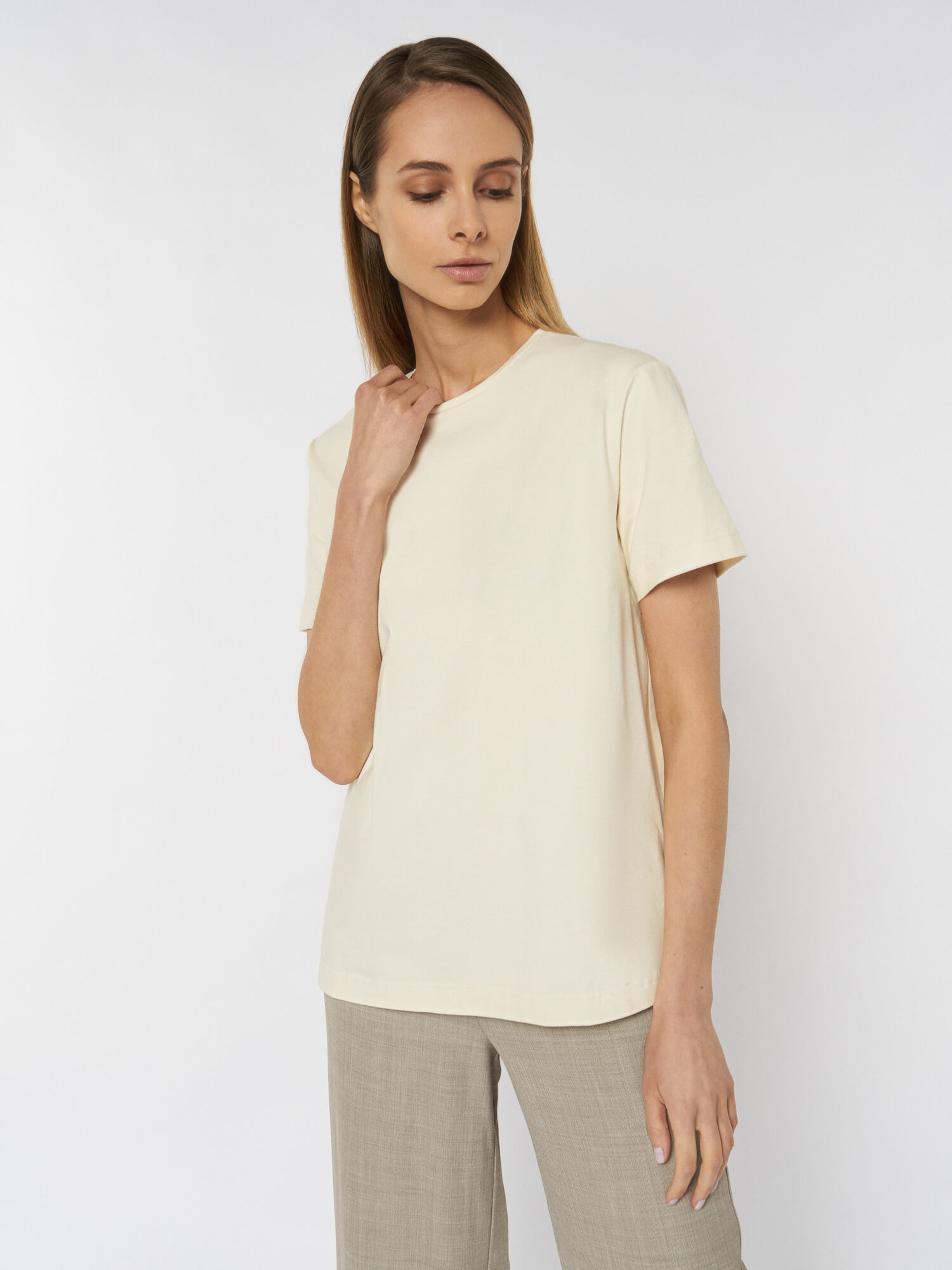 Удлиненная футболка Billie
