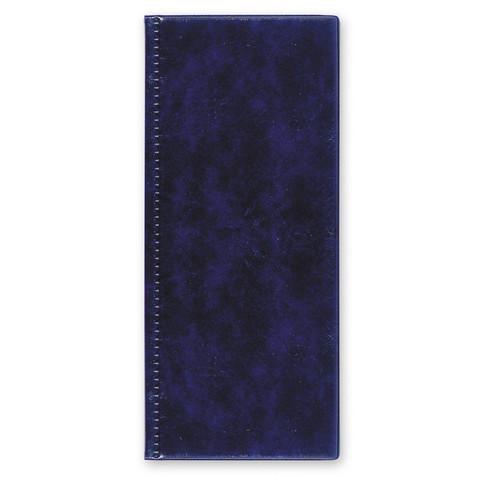 Визитница настольная Attache пластиковая на 96 визиток синяя