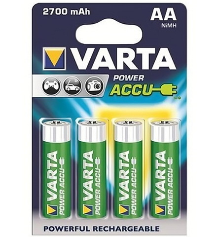 Аккумуляторы Varta 5706 (HR6) Ni-MH 2700mAh PHOTO