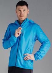 Детская Беговая куртка с капюшоном Nordski Run Light Blue