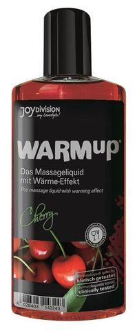 Разогревающее масло WARMup Cherry - 150 мл.