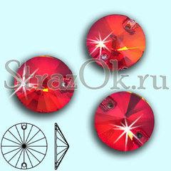 Стразы пришивные купить в Санкт-Петербурге Light Siam, Rivoli красные, алые