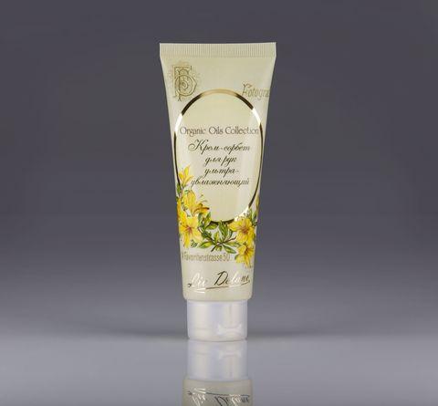 Liv delano Organic Oils Collection Крем-сорбет для рук ультраувлажняющий 100г