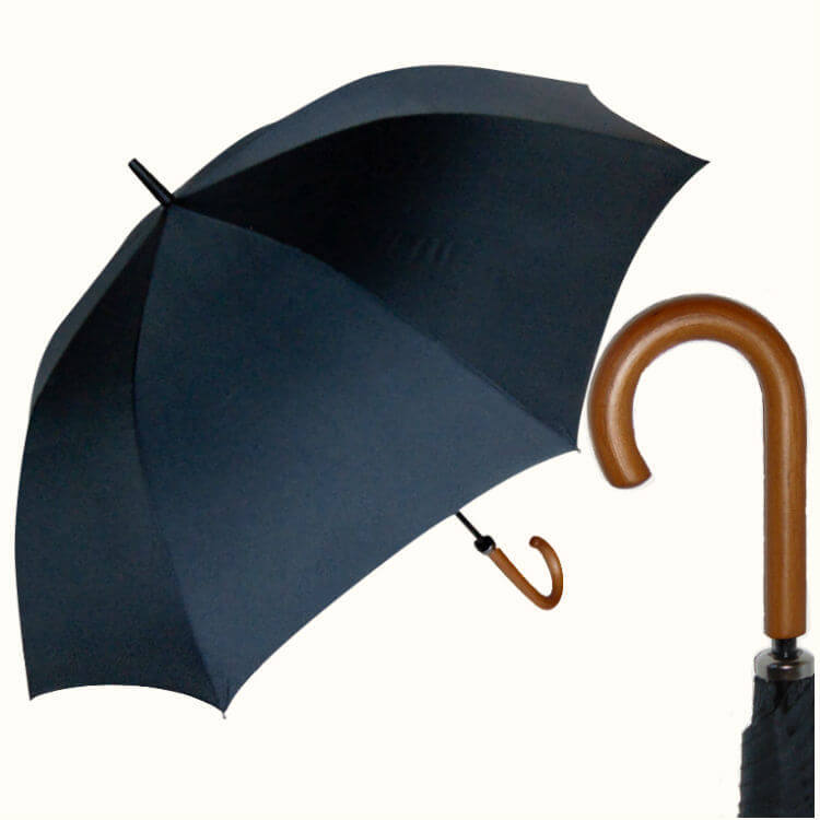 Зонт-трость Perletti Time 26015-Golf Nero 26015