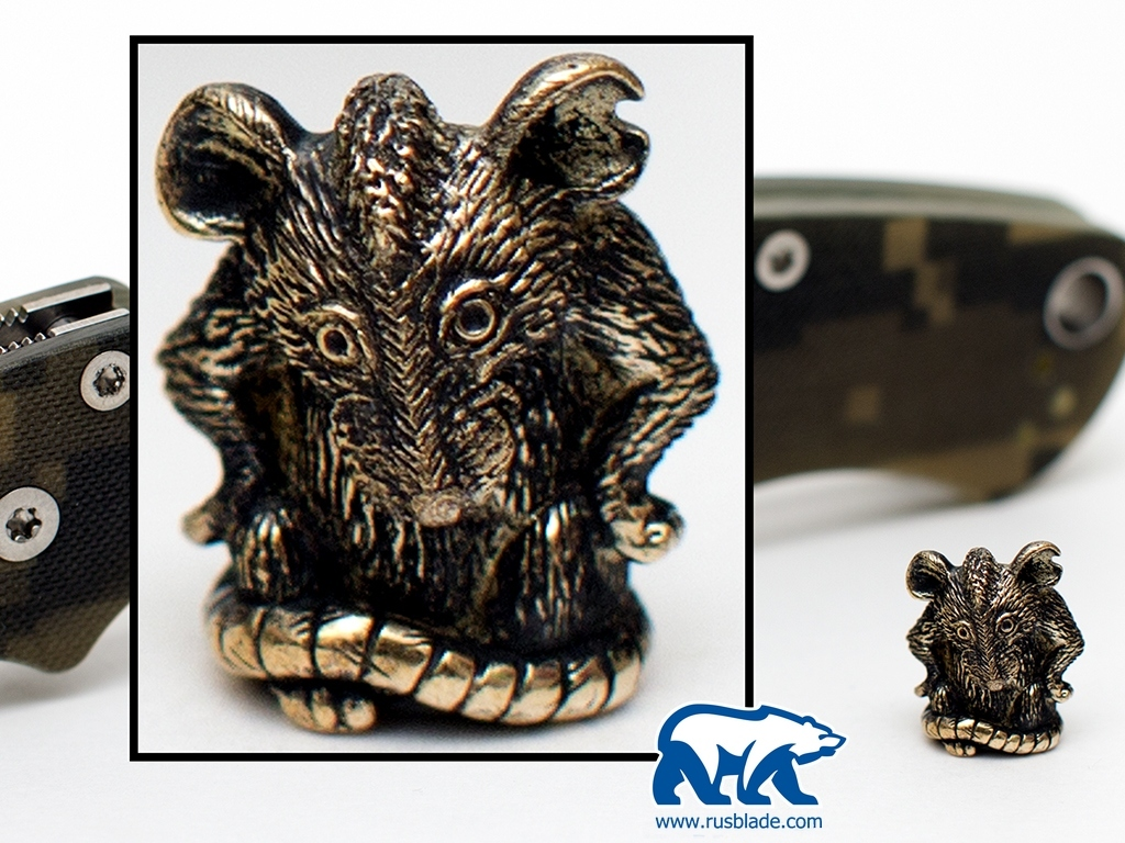 """Custom Sword Knot """"Mouse"""" Limited Edition"""