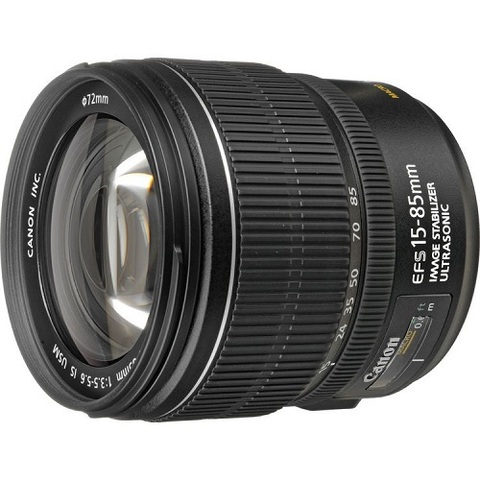 Объектив Canon EF-S 15-85mm f/3.5-5.6 IS USM Black для Canon