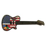 Значок Olympic Games - England 2012 - Guitar