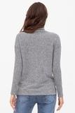 Джемпер для беременных 09075 серый