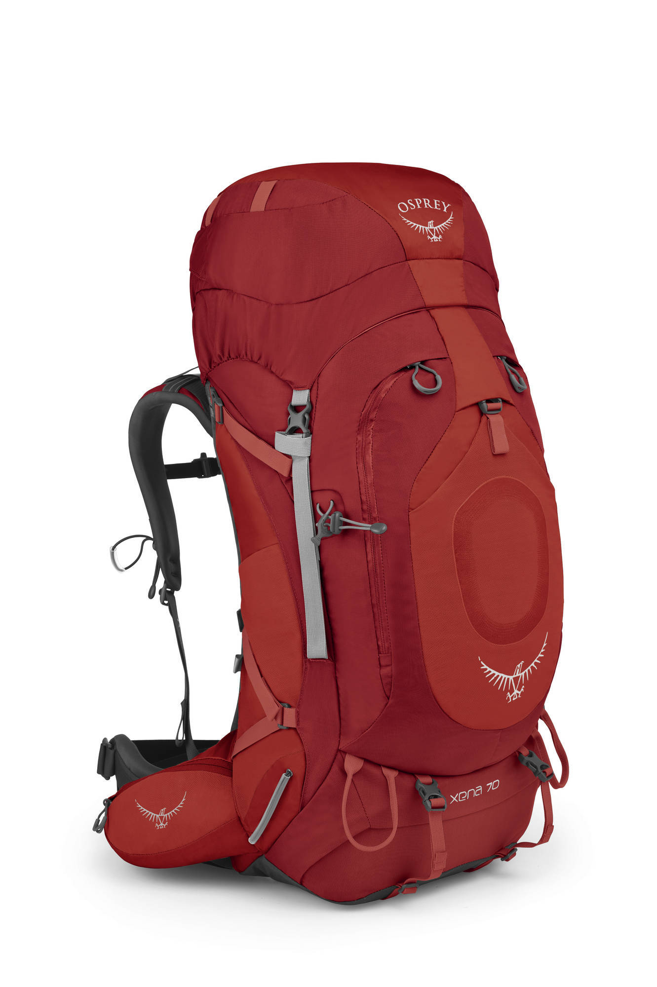 Туристические рюкзаки Рюкзак туристический женский Osprey Xena 70 Xena_70_Side_Ruby_Red_web.jpg