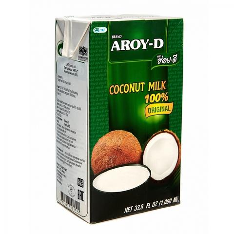 """Кокосовое молоко """"AROY-D"""" 60%, 500мл, Tetra Pak (жирность 17-19%)"""