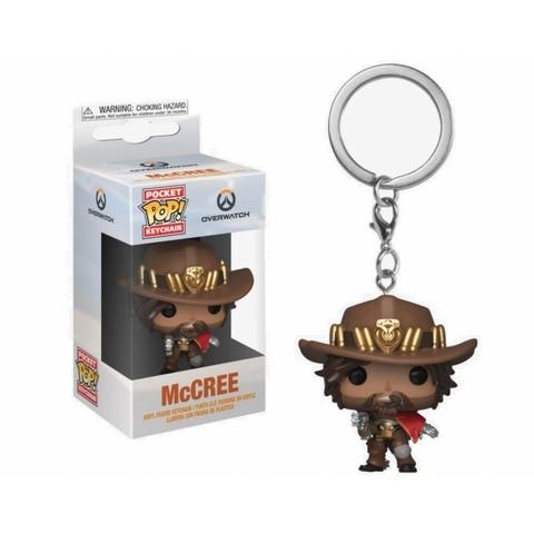 Брелок McCree || POP! Keychain Overwatch  Маккри