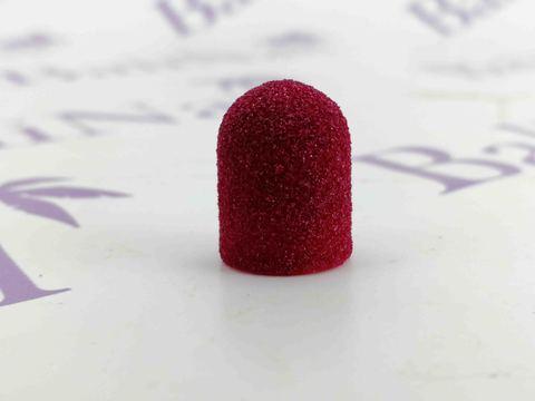 Колпачки абразивные D 10 x 15мм (120 F), 1 шт (розовый)