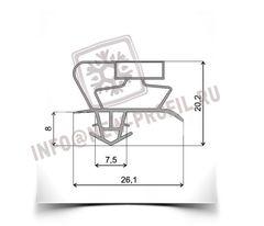 Уплотнитель для холодильника Gorenje RK4295Е (холодильная камера).Размер 98*49 см по пазу. Профиль 017(АНАЛОГ)