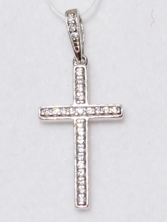 Крест 31460 (кулон  из серебра).