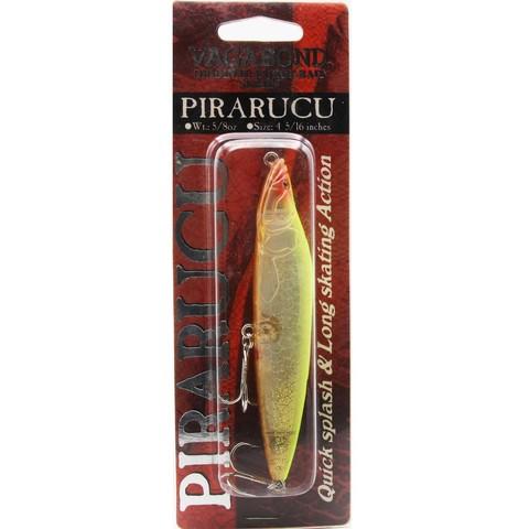 Воблер Vagabond Pirarucu Inject / Yellow Chart Glitter