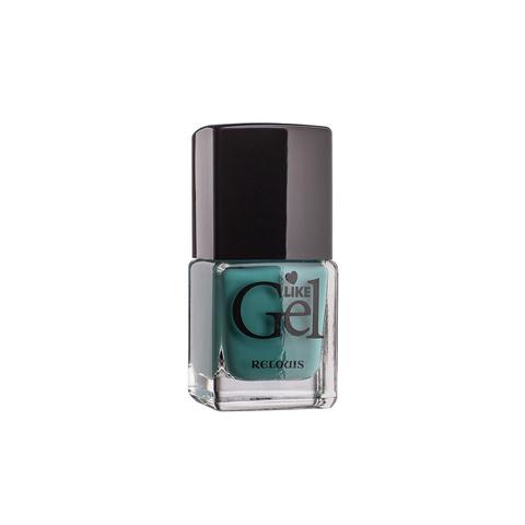 Relouis Like Gel Лак для ногтей с гелевым эффектом тон №10 (морская глубина) 6г