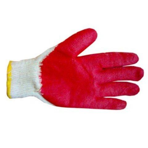 Перчатки рабочие трикотажные с 1-м латексным покрытием