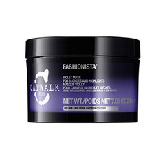 Tigi Catwalk Fashionista Violet Mask - Маска для коррекции цвета светлых волос