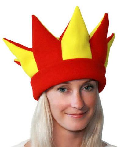 Карнавальная шапка Скоморох