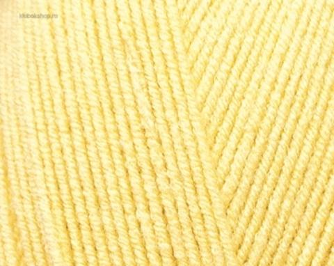Пряжа Cotton BABY SOFT Alize 13 Светлый лимон - купить в интернет-магазине недорого klubokshop.ru