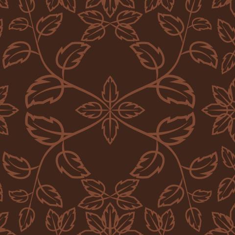 Floral geometric fantasy   floral damask