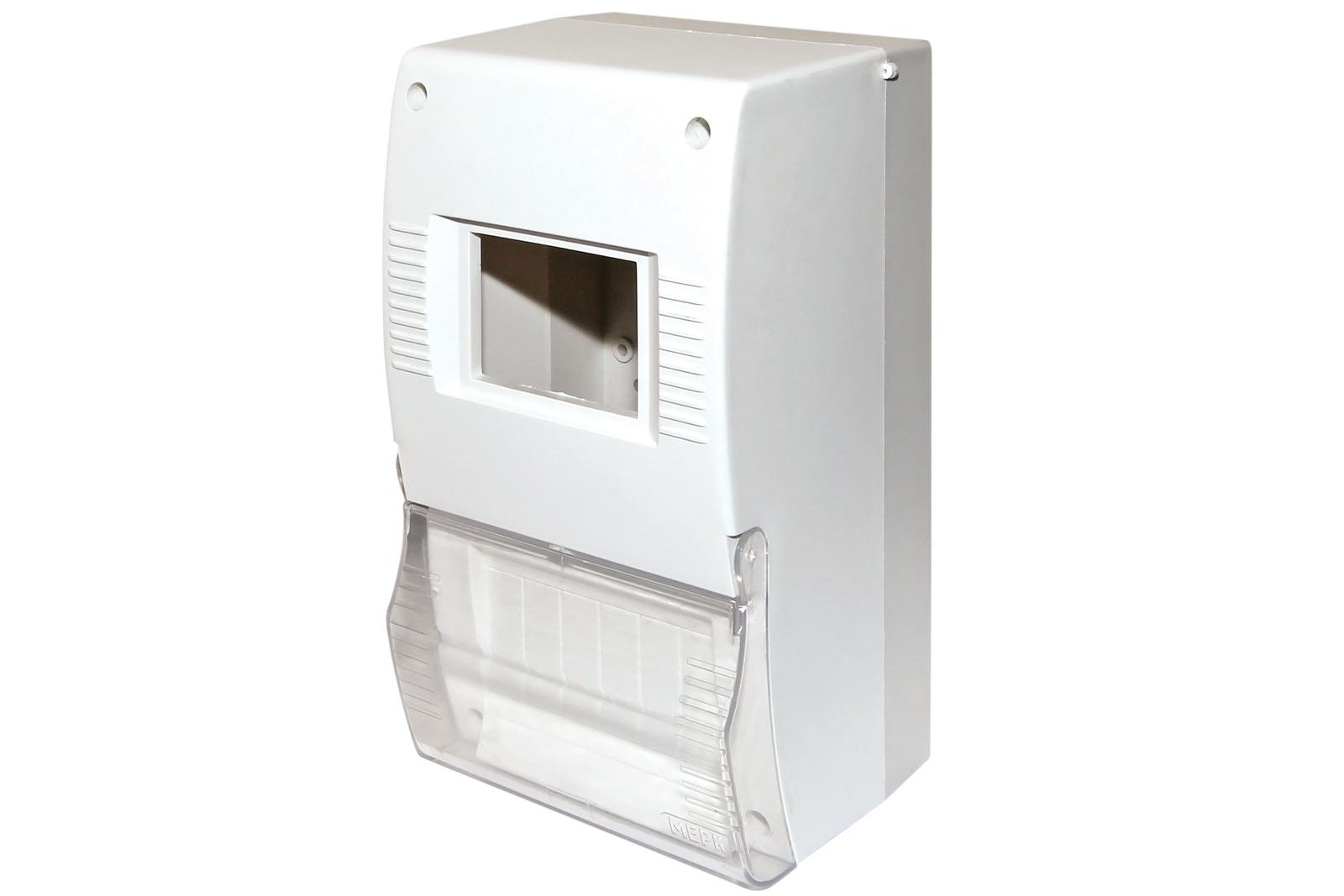 Щиток квартирный ЩК 26-003 2-6 модулей DIN с дверкой IP20 TDM