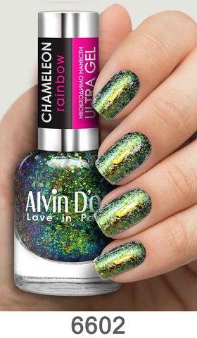 Alvin D`or Лак д/ногтей Сhameleon rainbow тон 6602