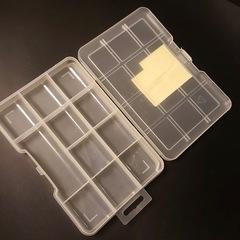 Контейнер пластиковый для мелочей 20х12,5 см