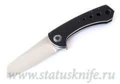 Нож TJ Fischer Launch Black Timascus Prototype
