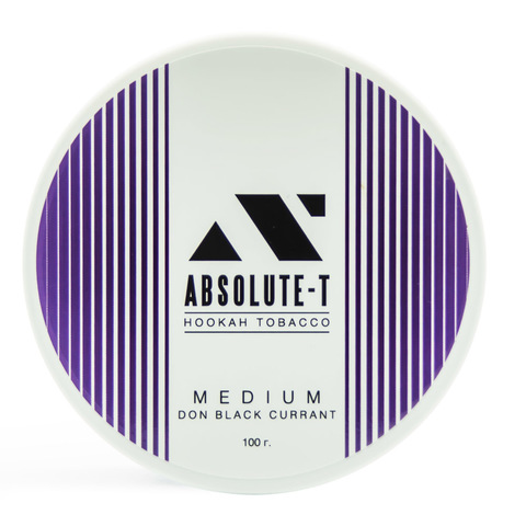 Табак Absolute-T Med 100гр Don Black Currant