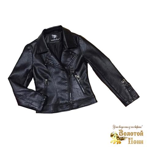 Куртка экокожа девочке (4-8) 200313-Р8846