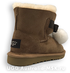 UGG Kids Gita Chestnut
