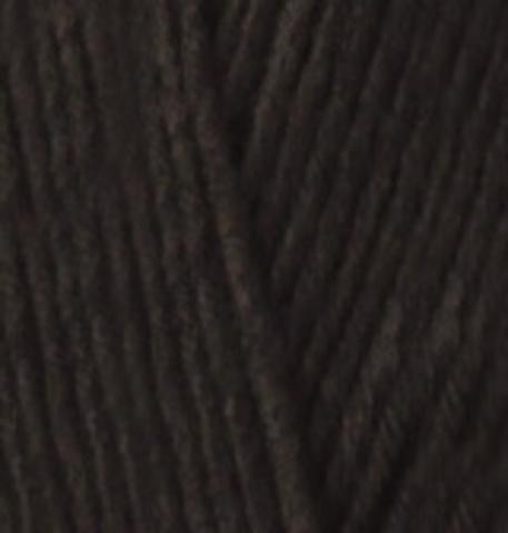 Пряжа Lanacoton Alize 60 Черный, фото