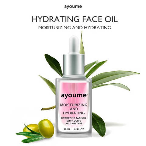 Масло для лица увлажняющее new AYOUME Moisturing-&-Hydrating Face oil with Olive