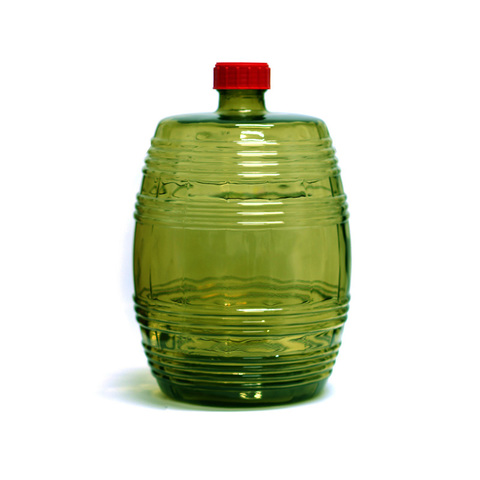 Бутыль Бариле 10 л, зеленое стекло
