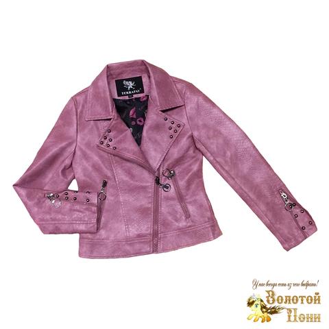 Куртка экокожа девочке (4-8) 200313-Р8847