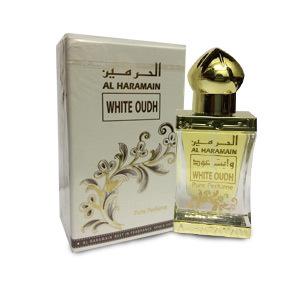 Al haramain white oudh Аль Харамайн белый уд 12 мл арабские масляные духи от Аль Харамайн Al Haramain Perfumes
