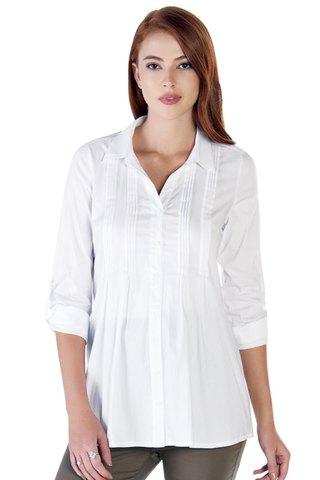 Рубашка для беременных 09887 белый